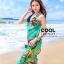 ผ้าคลุมชุดว่ายน้ำ ผ้าคลุมชายหาด ผ้าชายทะเล SH774 : ผ้าชีฟอง size 140x80 cm (มีสายคล้องแขน) thumbnail 1
