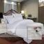 ชุดเครื่องนอนลายริ้ว เกรดพรีเมี่ยม งานโรงแรม ผ้าคอตตอนเนื้อหนา (ส่งฟรีพัสดุ / ems. 150 บ.) thumbnail 1