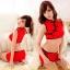 ชุดกี่เพ้าเซ็กซี่สีแดงเอวลอยงานสวยมาก thumbnail 1
