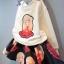 ชุดเสื้อกันหนาวลายตุ๊กตาสาวน้อย + กระโปรงผ้าโฟม (เนื้อผ้าหนาดีค่ะ) thumbnail 3