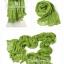 ผ้าพันคอแฟชั่น Cotton Candy : สี Apple Green thumbnail 2