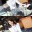 เสื้อเชิ้ตทำงานผู้หญิงแขนยาวแฟชั่นสีขาว thumbnail 4