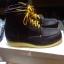 รองเท้าผู้ชาย | รองเท้าแฟชั่นชาย Dark Brown Boots หนังชามัวร์ (หนังลูกวัวแท้) thumbnail 2