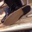 รองเท้าผู้ชาย | รองเท้าแฟชั่นชาย Black Double Monk Strap หนังแท้ ขัดเงา thumbnail 2