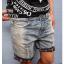กางเกงผู้ชาย | กางเกงยีนส์ชาย กางเกงยีนส์ขาสั้น แฟชั่นเกาหลี thumbnail 1