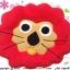 เบาะรองนั่งแฟนซี-สิงโต-สีแดง thumbnail 2