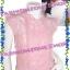 #หมด#รอบนี้มีไม่มาก# เสื้อนุ่น วรนุช:FZS0542 ::Beauty<PinK> Design Lace Shiffon: เสื้อผ้าชีฟองคอปีนลูกไม้อย่างดีใส่สบาย แถบหน้าแต่งลูกไม้ ชายผ้าโปร่ง thumbnail 1
