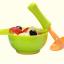 ชุดชาม บด อาหารเด็ก + ด้ามบดอาหาร สีเขียว thumbnail 3