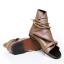 รองเท้าผู้ชาย | รองเท้าแฟชั่นชาย รองเท้าหนังกึ่งแต่ะหุ้มข้อ แฟชั่นเกาหลี thumbnail 1
