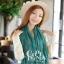 ผ้าพันคอแฟชั่น Cotton Candy : สี Pine Green thumbnail 4