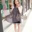 ผ้าพันคอลายหัวใจ : Cute Little Heart ผ้าชีฟอง size 160x75 cm thumbnail 6