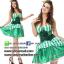 ชุดเจ้าหญิง ชุดคอสเพลย์เจ้าหญิง ชุดแฟนซีเจ้าหญิง ชุดแฟนซีสีเขียว thumbnail 1