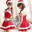 ชุดซานตาครอสสาว ชุดซานตี้ ชุดแฟนซีซานต้า ชุดแฟนซี ชุดคอสเพลย์ ชุดแฟนซีสีแดง ชุดพริตตี้ thumbnail 1