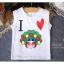 ชุดเสื้อกล้ามลายตุ๊กตาจีน + กระโปรง thumbnail 4