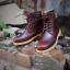 รองเท้าผู้ชาย | รองเท้าแฟชั่นชาย Red Brown Boots หนัง Oiled Pull Up กันน้ำ กันหิมะ กันรอยขูดขีดได้จริง thumbnail 1