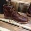 รองเท้าผู้ชาย | รองเท้าแฟชั่นชาย Brown Boots หนัง Oiled Pull Up หนังไม่ยับ ไม่แตก เวลางอขา thumbnail 2