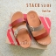 FitFlop Stack Slide : Dark Tan : Size US 8 / EU 39