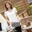 เสื้อทำงานแขนสั้นผ้าลูกไม้แฟชั่นสวยหรู thumbnail 2