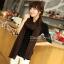 ผ้าพันคอไหมพรม ผ้า cashmere scarf size 180x30 cm - สี brown thumbnail 3