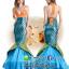 ชุดเจ้าหญิงนางเงือก ชุดแฟนซีใต้ทะเล ชุดคอสเพลย์ ชุดแฟนซีนางเงือก ชุดเจ้าหญิงเมอเมด thumbnail 1