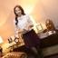 เสื้อทำงานผู้หญิงแขนยาวสีขาวน่ารักๆ ผ้าใส่สบาย thumbnail 6
