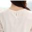 เสื้อลูกไม้แขนสั้นน่ารักๆ สีขาว thumbnail 9