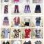 แพ็ค100ตัว:เสื้อ+เดรส+จั๊มสูท+เช็ท2ชิ้น+กางเกง+กระโปรง/คละแบบไม่มีซ้ำ thumbnail 5