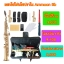 แซกโซโฟนโซปราโน Saxophone Soprano Bb สีทอง thumbnail 1