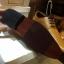 รองเท้าผู้ชาย | รองเท้าแฟชั่นชาย Tan Cut Shoes หนังวัวแท้ ขัดเงา thumbnail 3