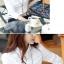 เสื้อเชิ้ตทำงานผู้หญิงแขนยาวแฟชั่นสีขาว thumbnail 3