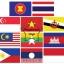 PF-020 ชุดธงอาเซียน เบอร์ 10 ปักแซก-ผ้าร่ม