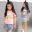 pr2853 เสื้อ+กางเกง เด็กโต 140-160 3 ตัวต่อแพ็ค