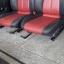 BENZ SLK E190 E160 เบาะMERCEDES BENZ SLK ทรงซิ่ง ขอบข้างหนังแท้สีดำเดินด้ายแดง ตรงกลางหนังสีแดง เบาะเบนซ์ SLK E190 E160 เบาะปีก thumbnail 5