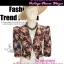 สไตล์Morgan TB625:Vintage Blazer:เสื้อคลุมวินเทจไหล่ตั้ง ลายดอกไม้ ผ้าเนื้อดีทำให้มีทรง ดีไซน์สวย thumbnail 1
