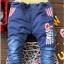 กางเกงยีนส์ ลายดาวแดง (ผ้ายีนส์เนื้อนิ่ม+ผ้าเนื้อดีค่ะ) thumbnail 2