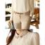 เสื้อเชิ้ตแฟชั่นทำงานผู้หญิงแขนยาวลูกไม้สีขาว ปกสีชมพูโอรส thumbnail 16