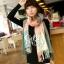 ผ้าพันคอ ผ้าคลุมพัชมีนา Pashmina scarf ลายตาราง size 200x60 cm - สี Light Pink thumbnail 3