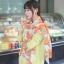 ผ้าพันคอแฟชั่นลายโซ่ Chiffon Coach : สีส้ม : ผ้าพันคอ Silk Chiffon - size 160x60 cm thumbnail 9