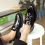 รองเท้าผู้ชาย   รองเท้าแฟชั่นชาย รองเท้าหนังแก้ว แฟชั่นเกาหลี thumbnail 2