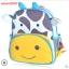 (ยีราฟ) กระเป๋าเป้ zoo pack พิเศษรุ่นซิปเป็นรูปสัตว์ตามแบบกระเป๋าค่ะ thumbnail 1