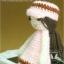 แพทเทิร์นตุ๊กตาถักสาวน้อย Pinkie Girl thumbnail 2