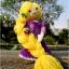 แพทเทิร์นตุ๊กตาถักราพันเซล (Amigurumi Rapunzel Pattern) thumbnail 3