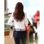 เสื้อเชิ้ตทำงานผู้หญิงแขนยาวแฟชั่นสีขาว thumbnail 19