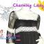 ก๊อปงานChloe' : Magic Dress: DB786 ใหม่! ชุดแซก/เดรสผ้าชีฟองหรูมากเนื้อผ้ามีดิ้น แขนสามส่วนคอสี่เหลี่ยม แต่งลูกไม้ สีดำมีซับใน thumbnail 2