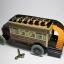 ของเล่นโบราณ รถบัส 2 ชั้น สีแดงไขลาน thumbnail 3