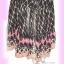 #หมด# สไตล์แบรนด์ KLOSET เชียร์สวยค่ะสาวอวบห้ามพลาด! LDB462:: KlosetStyle Dress แซคผ้าชีฟอง ดีไซน์หรูสุดๆเป็นชั้นๆ พริ้วสวยงามมาก ใส่ออกงานได้ Bl thumbnail 2