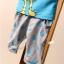 ชุดเสื้อ+กางเกงลายอมยิ้ม thumbnail 8