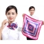 ผ้าพันคอจัตุรัส ผ้าพันคอ uniform รหัส S09 - size 60 x 60 cm thumbnail 1