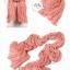 ผ้าพันคอแฟชั่น Cotton Candy : สี Melon Red thumbnail 2