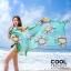ผ้าคลุมชุดว่ายน้ำ ผ้าคลุมชายหาด ผ้าชายทะเล SH774 : ผ้าชีฟอง size 140x80 cm (มีสายคล้องแขน) thumbnail 4